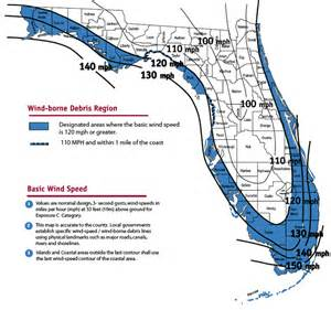 florida wind speed map florida homeowners insurance savings