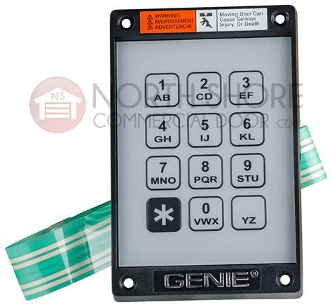 Garage Door Keypad Genie Genie 20235r S Garage Door Opener Kep 1 Keypad