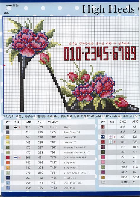 Heels Collection 1 High Heels Collection 1 1 Cross Stitch
