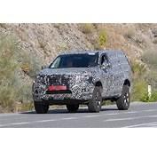 Next Gen 2019 Nissan Pathfinder Spied Shows Radical Front