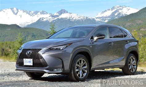 lexus nx malaysia lexus nx suv malaysian estimated prices released open