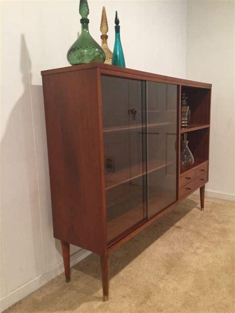 mid century display cabinet mid century modern display cabinet by lane of altavista