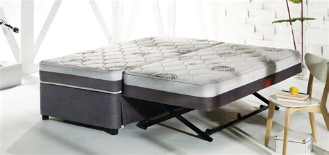 collapsible cing furniture high rise mattress trundle beds folding beds furniture