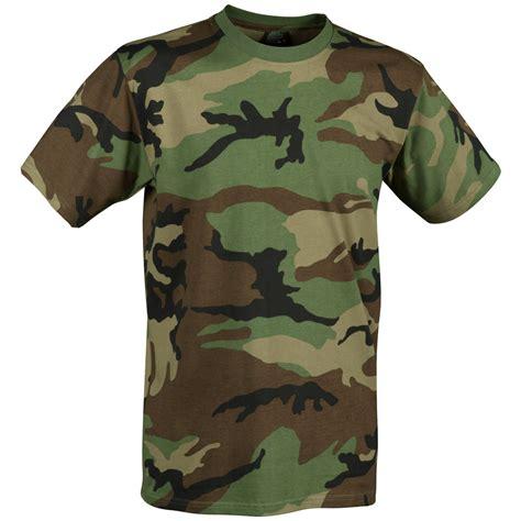Tshirt Army Sturm helikon army tactical top t shirt paintball airsoft us woodland camo ebay