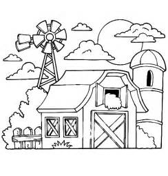 barn coloring sheet barn coloring pages barn with animals gianfreda net