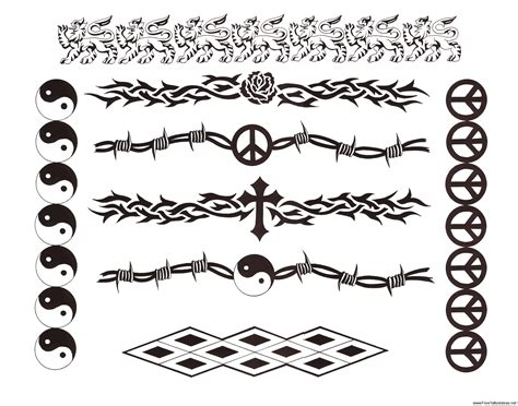 celtic band tattoo designs armband tattoos