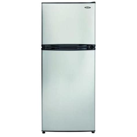 topping bar refrigerator danby 9 9 cu ft top freezer refrigerator in stainless
