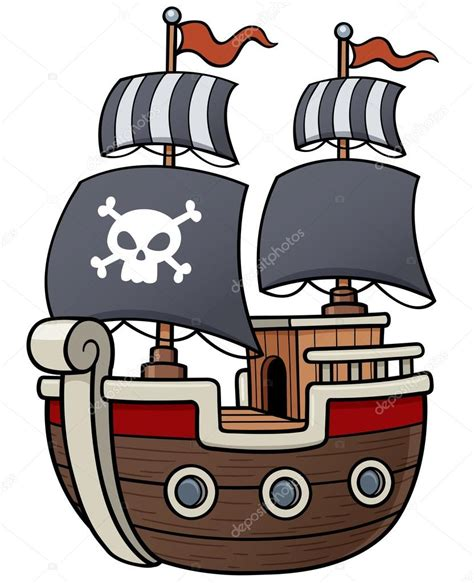 barco pirata dibujo barco pirata archivo im 225 genes vectoriales 169 sararoom