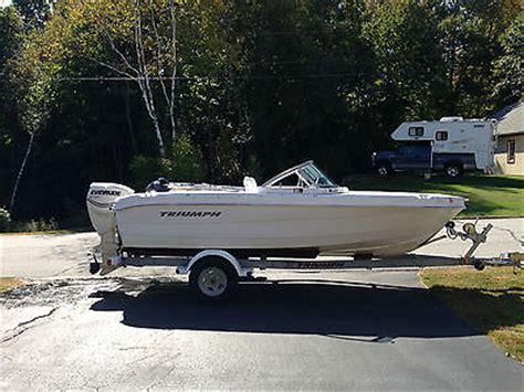 triumph boat trailer triumph 191 fs boats for sale