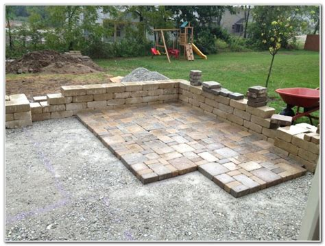 Patio Pavers Diy Diy Patio Pavers Designs Diy Concrete Patio Pavers Home Design Ideas 37 Amazing Outdoor Patio
