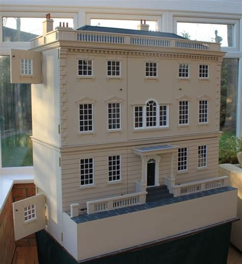 ready made dolls houses jane austen s longbourn house anglia dolls houses by tim hartnall ready to quot move in