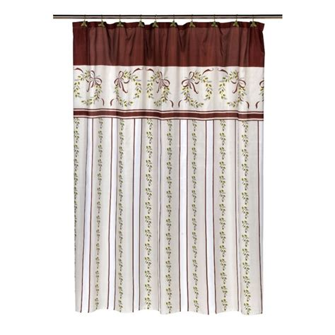victorian shower curtains bathroom geekshive victorian christmas polyester fabric holiday