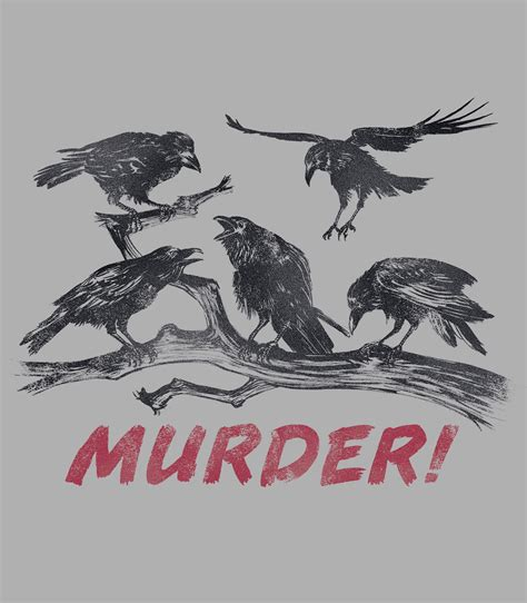 A Murder Of Crows murder of crows s t shirt headline shirts