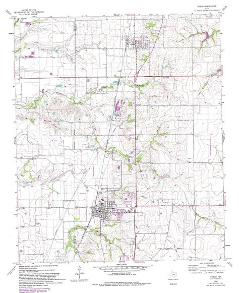 map frisco texas frisco topographic map tx usgs topo 33096b7