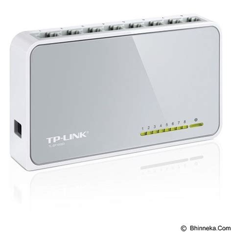 Harga Tp Link 8 Port jual tp link switch hub 8 port 10 100mbps tl sf1008d