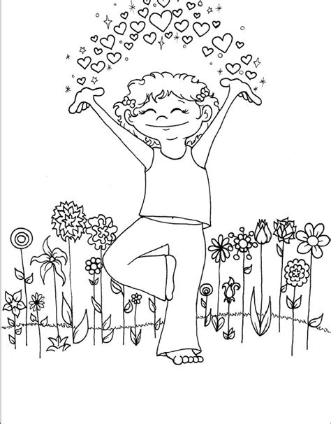 coloring pages for yoga 310 best coloring images on pinterest coloring books