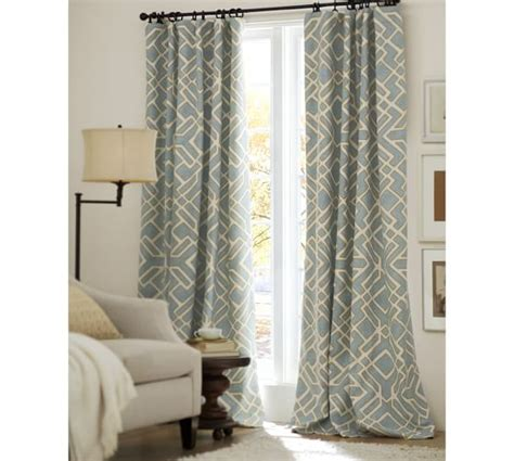 pottery barn drapery shelby drape pottery barn