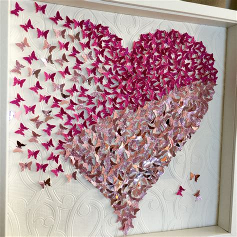 3d paper butterfly wall decor 3d butterfly wall frame paper wall