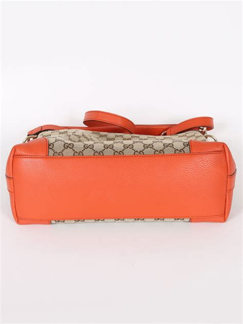 Gucci Ns Leather Orange gucci miss gg canvas orange leather bag luxury bags