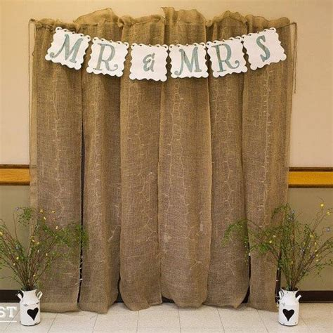 Wedding Backdrop Burlap by Burlap Backdrop By Mariabellagrace On Etsy Weddings