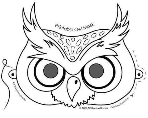 owl mask template owl mask template www mindsandvines