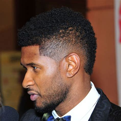 Usher Mohawk Hairstyle by Usher Hairstyles