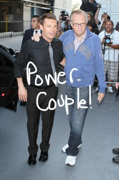 Larry King Wants Seacrest As His Successor by Clear Channel News And Photos Perez