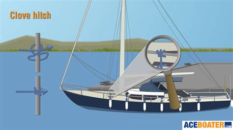 boat cover knots boat knot tying guide