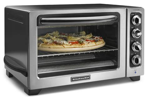 Countertop Oven For Baking by Kitchenaid Kco234ccu 12 Quot Convection Countertop Oven With Black Handle Contour S Ebay