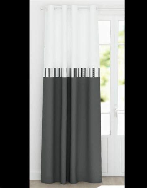 Rideau Et Gris by Rideaux Noir Et Gris Maison Design Wiblia
