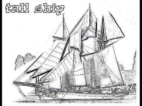 coloring book for relaxation sailing ships books coloringbuddymike ships coloring pages