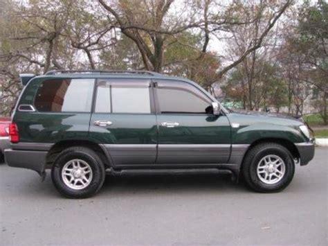 2001 Toyota Land Cruiser 2001 Toyota Land Cruiser Pictures