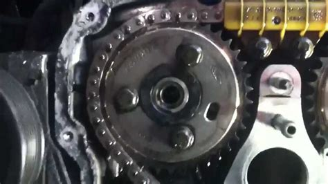 Mini Cooper Zahnriemen Oder Kette by Ford Transit Timing Chain Tensioner Part 1 Youtube