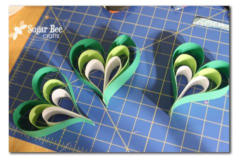 How To Make Paper Shamrocks - paper shamrocks sugar bee crafts