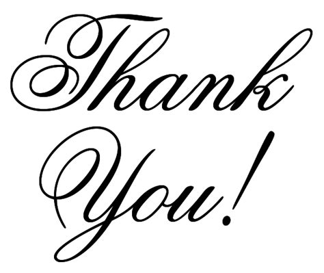 Thank You Letter Sign thank you letter clipart