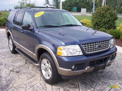 2003 ford explorer eddie bauer 2003 medium wedgewood blue metallic ford explorer eddie