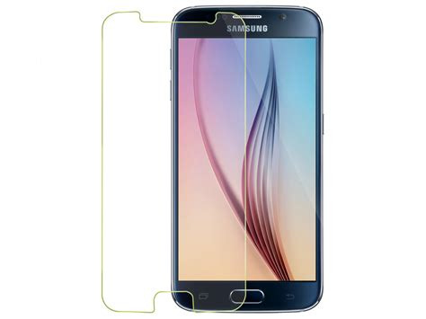 Tempered Glass Samsung S6 Screen Protector Guard Antigores Hp Tempered Glass Flim Screen Protector Guard Phone Holder