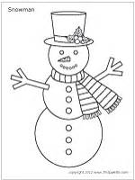 snowman printable templates amp coloring pages firstpalette