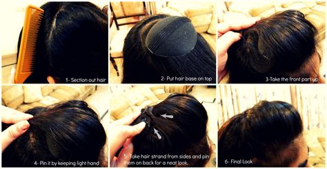 How To Do Puff In Hair | step by step pictorial tutorials of different style puff