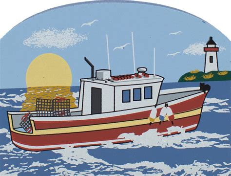 lobster boat seafood on the water lobster boat the cat s meow village