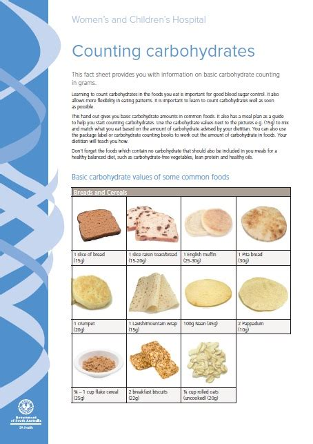 carbohydrates 17 grams gorgeous list of carbs myhomeimprovement