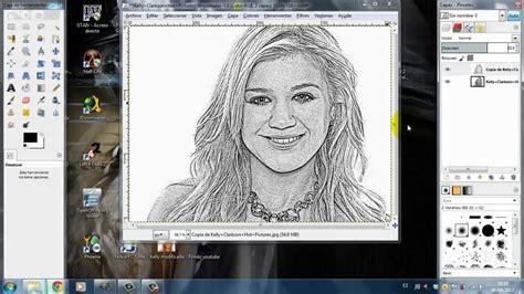 convertir imagenes a jpg gratis online tutorial efecto dibujo a l 225 piz gimp youtube