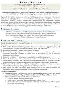 Admissions Director Sle Resume by It Director Resume Resume Format Pdf