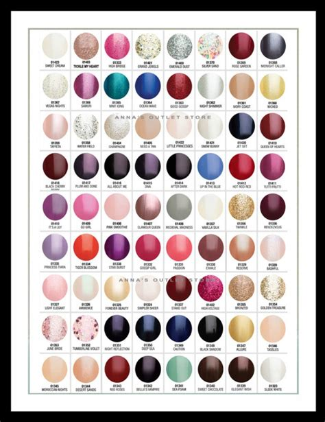 gelish color chart harmony gelish gel nail any 2 colors you choose