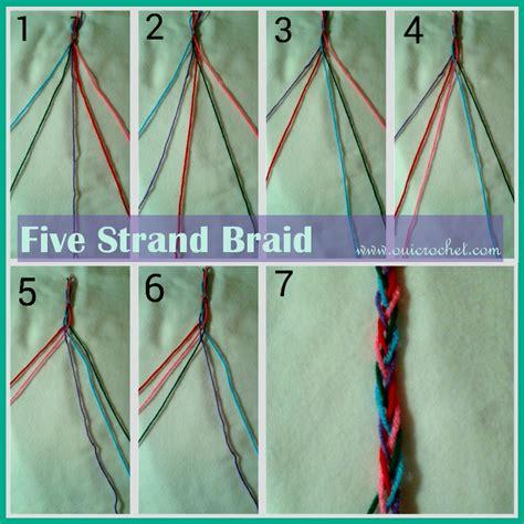 written instructions for 5 strand dutch braid 6 strand round braid tutorial bing images