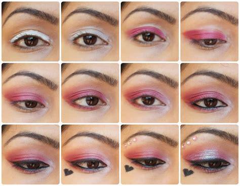 makeup tutorial valentine s day look eye makeup tutorial valentine s day special quot pink love