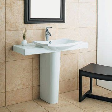Pedestal Sinks With Counter Space the world s catalog of ideas