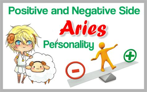 positive and negative side aries my astrology