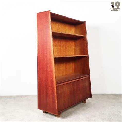 oak series bookshelf cabinet from the fifties by cees