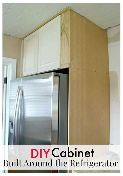 how to build custom cabinets best 25 refrigerator ideas on pinterest diy